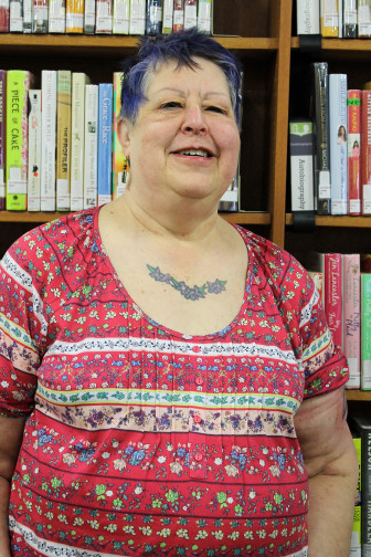 Dee Crowner, director of the North Liberty Library, has been with the North Liberty library through one expansion already and is on the cusp of seeing her second library expansion finished.