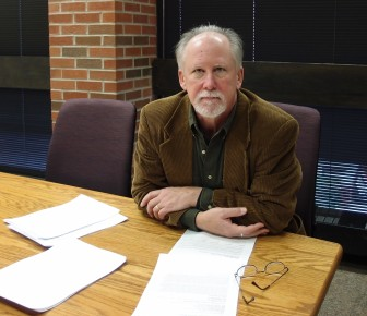 Jim Elmborg, Associate Professor at the UI School of Library and Information Science