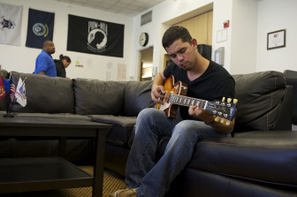 Edwin del Rio waited two years for the Department of Veterans Affairs to resolve his disability claim. When he received a $31,000 retroactive benefits check, he used some of it to buy a new electric guitar and pay off debt.