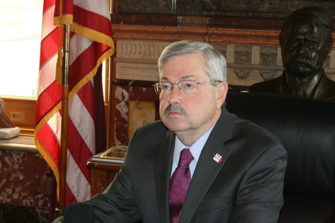 Gov. Branstad spoke with IowaWatch reporters during an exclusive interview Monday, Jan. 13 during the opening of the 2014 legislature.