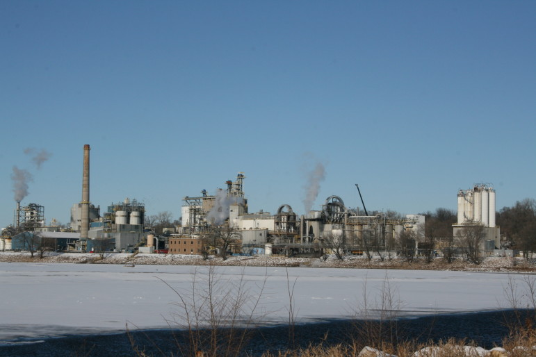 The Cargill plant in Cedar Rapids, shown on Dec. 16, 2013.