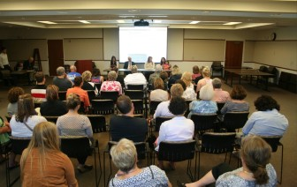 Fifty people attended a July 1 forum on fighting meth abuse, co-hosted by IowaWatch and the Council Bluffs Nonpareil.