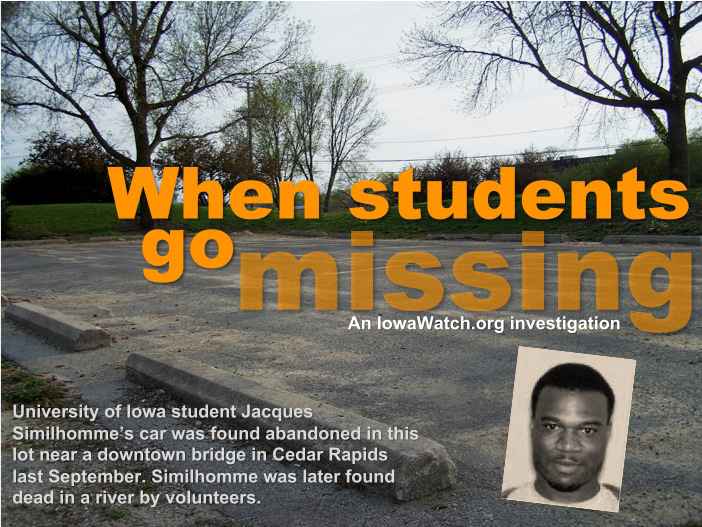 When Students Go Missing Art