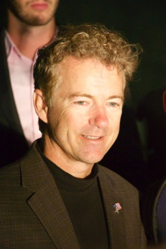 Sen. Rand Paul during his University of Iowa stop Oct. 12, 2015.