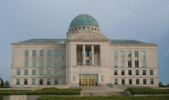 Iowa Supreme Court building in Des Moines.