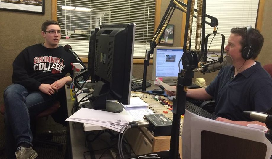 Stephen Gruber-Miller, an IowaWatch intern during summer 2013, spoke on KXIC radio in January this year about his Opportunity Gap stories. Gruber-Miller now works at the Iowa City Press-Citizen. IowaWatch is on KXIC's morning show every third Tuesday.