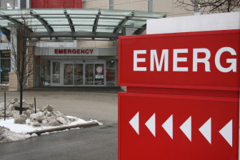 Opioid abuse, in the form of prescription painkillers and heroin, has contributed to a growing number of Iowa emergency room visits and overdose deaths in the past decade. The emergency entrance of St. Luke's Hospital in Cedar Rapids is shown January 8.