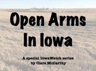 Open Arms in Iowa logo