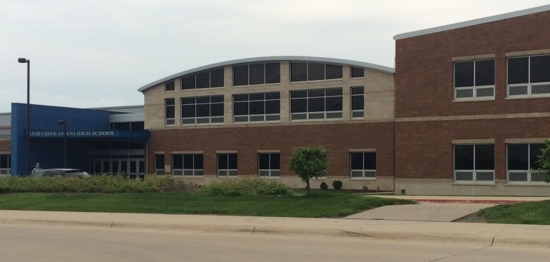 Clear Creek Amana High School, in the only school district in Iowa without American Disabilities Act non-compliance issues in 48 school district reports since 2010 showed. Photo taken May 11, 2016.