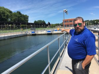 Rich Oswald, superintendent of the East River Station drinking water treatment plant in Davenport, Iowa, discusses the plant's treatment process in an IowaWatch interview on July 12, 2016.